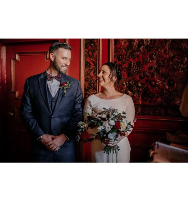 A glowing review for Agnostic Scotland Wedding Celebrant, Onie TIbbitt, following an intimate, deeply meaningful Elopement Ceremony at Prestonfield House in Edinburgh.